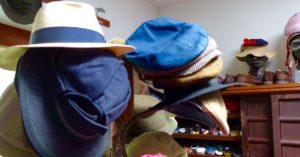 charmantes Haus mit vielen Hüten