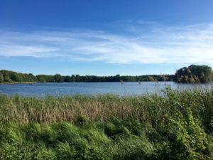 Der See ladet zum Bade